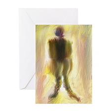 Figurative Painting Original Art Greeting Card