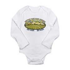 Support Your Local Farmers Long Sleeve Infant Body