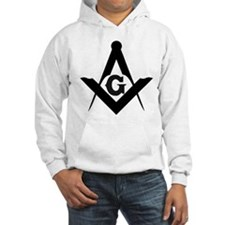 Outline Square and Compass Hoodie