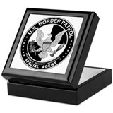 Alien US Border Patrol SpAgnt Keepsake Box