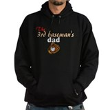 third baseman's dad Hoodie