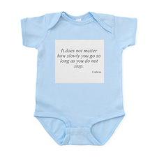Confucius quote 8 Infant Creeper