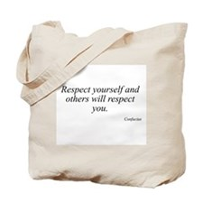 Confucius quote 10 Tote Bag