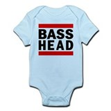 BASS HEAD. Onesie