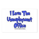 Love Unemployment Office Postcards (Package of 8)