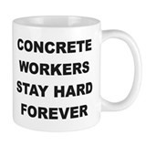 Cute Concrete worker Mug
