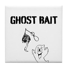 Ghost Bait Tile Coaster