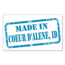 MADE IN COEUR D'ALENE Decal