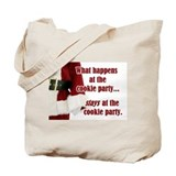 What Happens at the Cookie Party Tote Bag