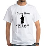 Cool Policeman designs White T-Shirt