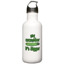 My Cucumber It's Bigger Animal House Water Bottle
