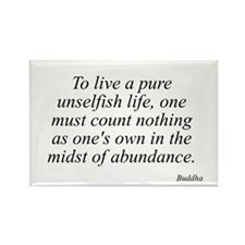 Buddha quote 49 Rectangle Magnet