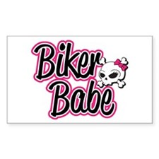 Biker Babe Decal