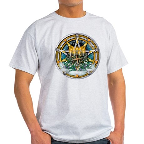 Imbolc Pentacle Light T-Shirt
