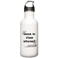 Euripides Stone Quote Water Bottle