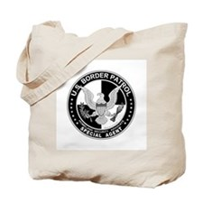 News US Border Patrol SpAgnt Tote Bag