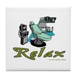 Dental Relax Tile Coaster
