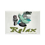 Dental Relax Rectangle Magnet (10 pack)