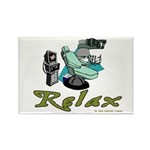 Dental Relax Rectangle Magnet (100 pack)