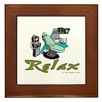 Dental Relax Framed Tile
