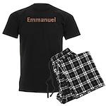 Emmanuel Fiesta Men's Dark Pajamas