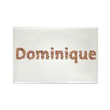 Dominique Fiesta Rectangle Magnet