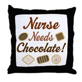 Nurse Gift Funny Throw Pillow