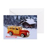 Woody christmas card Greeting Cards (20 Pack)