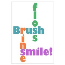 Brush Floss Rinse Smile