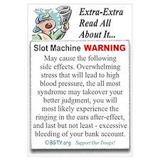 Slot Machine WARNING