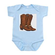 Cowboy Boots Infant Creeper