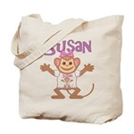 Little Monkey Susan Tote Bag