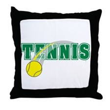 Tennis! Throw Pillow