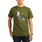 Blue Saddle Homer Organic Men's T-Shirt (dark)