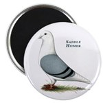 Blue Saddle Homer Magnet