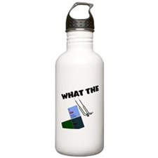 What the He Double Hockey Sti Water Bottle