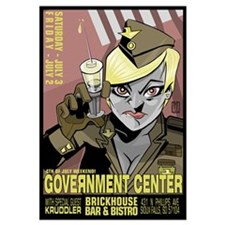 Government Center Print