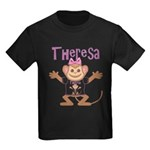 Little Monkey Theresa Kids Dark T-Shirt
