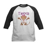 Little Monkey Theresa Kids Baseball Jersey