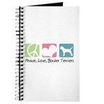 Peace, Love, Border Terriers Journal