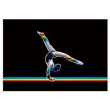 Gymnast on a Rainbow Beam