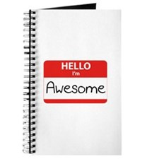 Hello, I'm Awesome Journal
