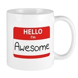 Hello, I'm Awesome Mug