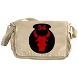 34th Infantry Division (2) Messenger Bag
