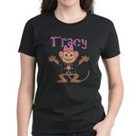 Little Monkey Tracy Women's Dark T-Shirt