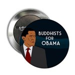 Buddhists for Obama campaign button