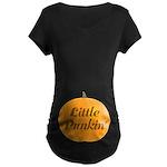 Halloween Belly Print Pumpkin Pregnancy T-Shirt