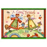 A Good Friend Lifts Us Up!
