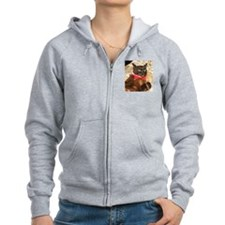 FPG Xmas Cat VIII - Zip Hoodie