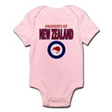 Property of New Zealand Infant Bodysuit